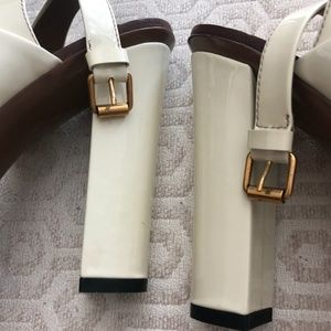 Gucci Shoes - GUCCI Women's Heels - Size 37 (7.5 in US) - White